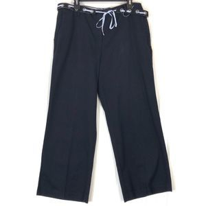 Tommy Hilfiger navy blue ankle chino pants A0525